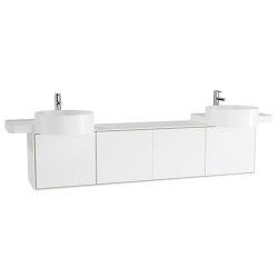 Voyage Washbasin Unit for Double Countertop Washbasin | Vanity units | VitrA Bathrooms
