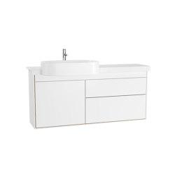 Voyage Washbasin Unit with Ceramic Vanity | Wash basins | VitrA Bathrooms