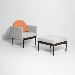 Grid | Armchair & Stool | Sillones | Petite Friture
