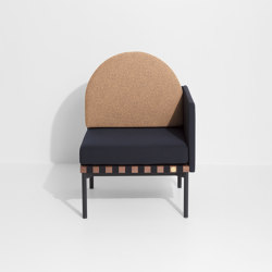Grid | Armchair with one armrest | Armchairs | Petite Friture