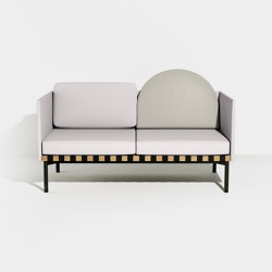 Grid | 2 seater sofa with armrests | Sofas | Petite Friture