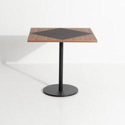 Tavla | Large square bistro table | Bistro tables | Petite Friture