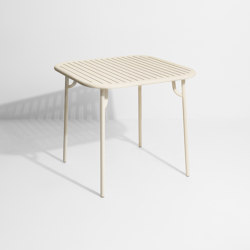 Week-End | Square Table | Dining tables | Petite Friture