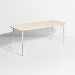 Week-End | Rectangular table medium | Tavoli pranzo | Petite Friture
