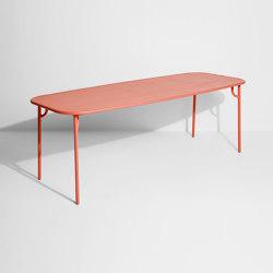Week-End | Table rectangulaire large | Tables de repas | Petite Friture