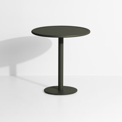 Week-End | Round bistro table | Bistro tables | Petite Friture