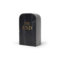 Toiletpaper The End Black | Objekte | Gufram