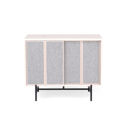 Canvas | Small Cabinet | Ash | Credenze | L.Ercolani