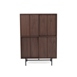 Canvas | Tall Cabinet | Walnut | Credenze | L.Ercolani