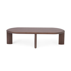 IO | Long Table | Walnut | Coffee tables | L.Ercolani