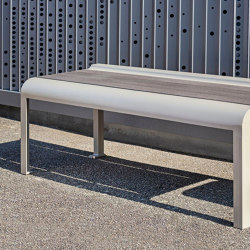 Paosa Backless bench | Panche | Concept Urbain