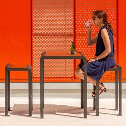 Paosa Hight table | Mesas altas | Concept Urbain