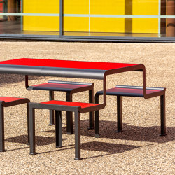 Paosa Picnic table | Table-seat combinations | Concept Urbain
