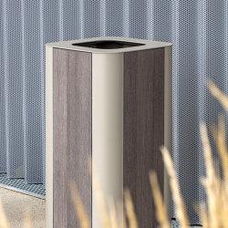 Paosa Square Litter Bin | Waste baskets | Concept Urbain