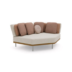 Flex corner | Elementi sedute componibili | Manutti