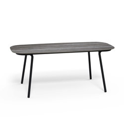 Minus high dining table 280x100 | Standing tables | Manutti