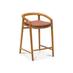Solid barstool 61 | Counter stools | Manutti