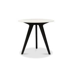 Torsa high dining table ⌀100 | Stehtische | Manutti
