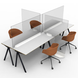 Wellness Desk Divider | Table accessories | Isomi