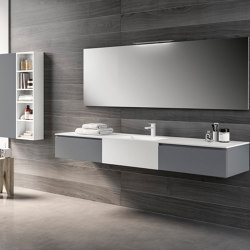 Moon 15 | Bath shelving | GB GROUP