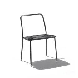 First Steps Outdoor Dining Chair | Sillas | Flexform