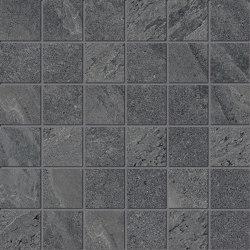 Ubik Anthracite Mosaico | Ceramic tiles | Keope