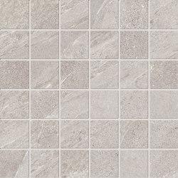 Ubik Greige Mosaico | Ceramic tiles | Keope