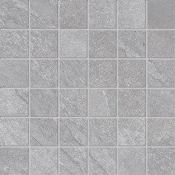 Ubik Grey Mosaico | Ceramic tiles | Keope