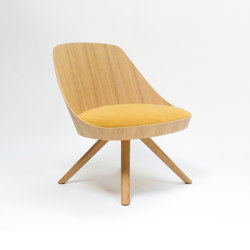 Kaiak lounge spin wood | Armchairs | ENEA