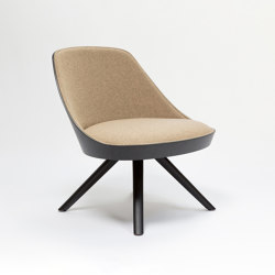 Kaiak lounge spin wood | Armchairs | ENEA