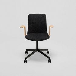 Lottus High confident chair with castors | Sedie ufficio | ENEA