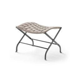 Carlotta Footstool Outdoor | Tabourets | Flexform