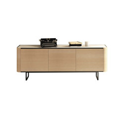 Adara Sideboard with plain doors | Credenze | Momocca