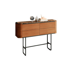 Adara Sideboard high legs with drawers | Credenze | Momocca