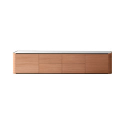 Adara Sideboard with drawers and plain doors | Sideboards / Kommoden | Momocca