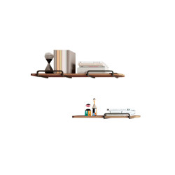 Adara wall shelves with double structure | Shelving | Momocca