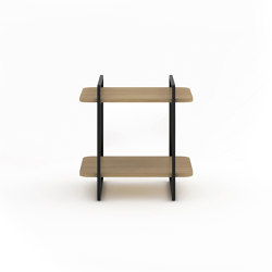 Adara bedside table with natural stone at the top | Night stands | Momocca