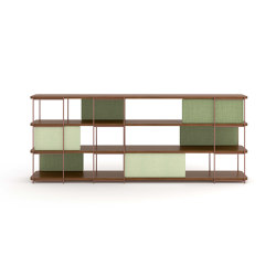 Julia Wood self-supporting sideboard | Shelving | Momocca
