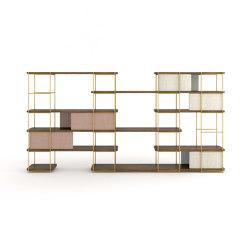 Julia Wood storage system | Shelving | Momocca