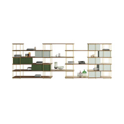 Julia Self-supporting shelve and space divider | Shelving | Momocca