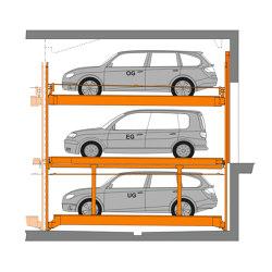 TrendVario 6300+ | Semi automatic parking systems | KLAUS Multiparking