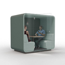 Cabin | Booth 4-persons closed glass | Office Pods | Conceptual