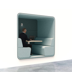 Cabin | Built-in 4-persons | Office Pods | Conceptual