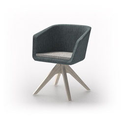 Cameo   Cameo Wood Base   Stühle   Conceptual