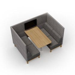 Clark | 4-Pod open | Sofas | Conceptual