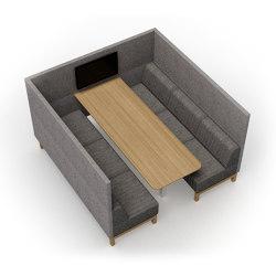 Clark | 6-Pod open | Sofas | Conceptual