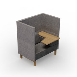 Clark | Flip-Top-seater left | Armchairs | Conceptual
