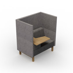 Clark | Flip-Top-seater right | Armchairs | Conceptual