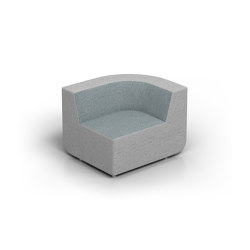 Elements   Rounded Right-end   Fauteuils   Conceptual