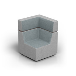 Elements | Square Corner | Armchairs | Conceptual